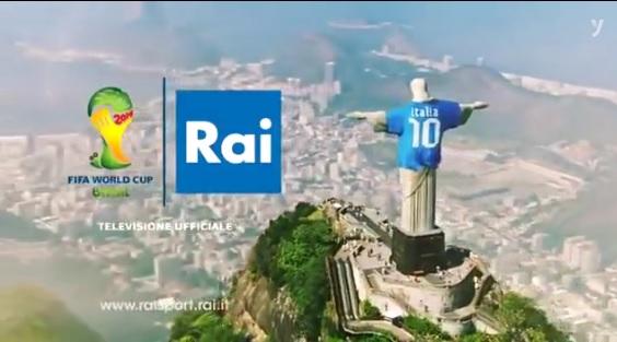 anuncio RAI muncial Brasil 2014