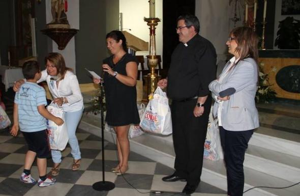 regalos municipales Primera Comunión Gádor 2014