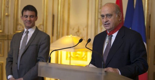 Jorge Fernández ministro Interior en París 2014