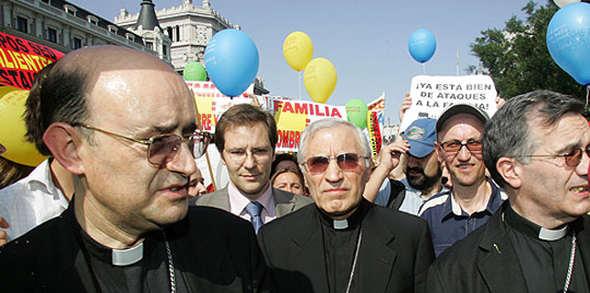 rouco mani contra matrimonio homosexual
