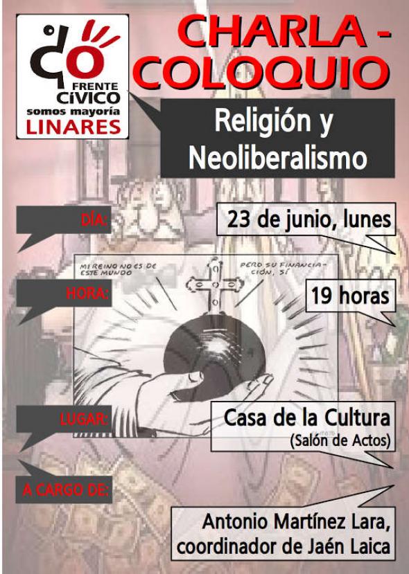 charla Linares 2014 cartel