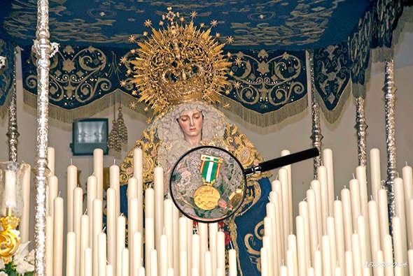 Medalla policia Virgen del Amor