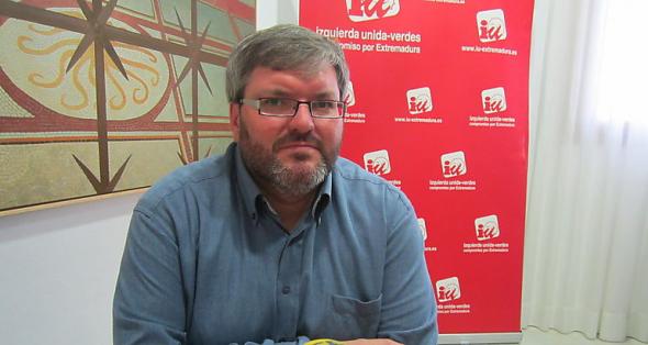 Victor Casco diputado IU Extremadura