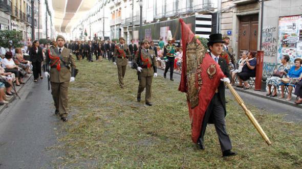 Corpus 2014 Granada militares