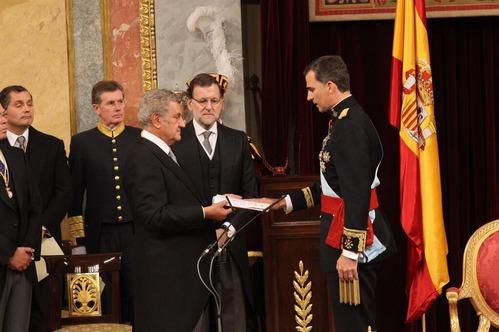 juramento Felipe VI 2014