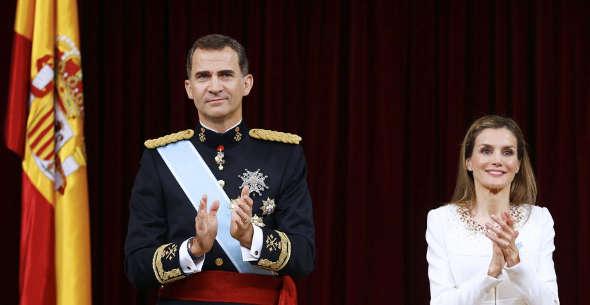 Felipe VI y Leticia 2014
