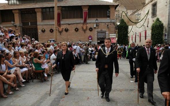 Alcalde Toledo Garcia-Page en Corpus 2014
