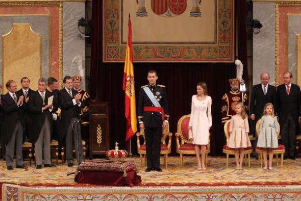 Proclamacion Rey Felipe VI 2014
