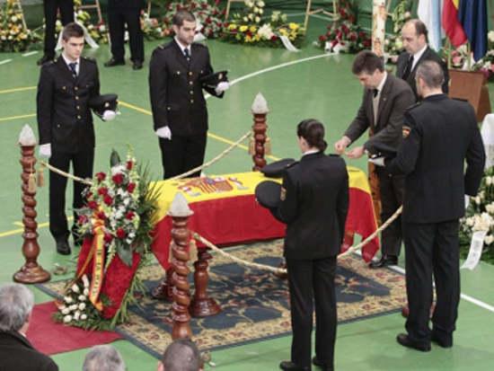 funeral oficial Policía Nacional