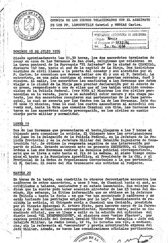 carta 1976 al Nuncio Argentina 2