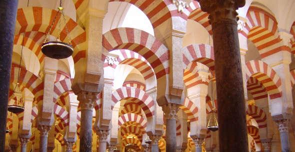 mezquita Córdoba arcos