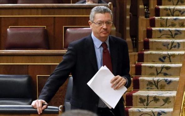 Gallardón ministro Justicia PP 2014