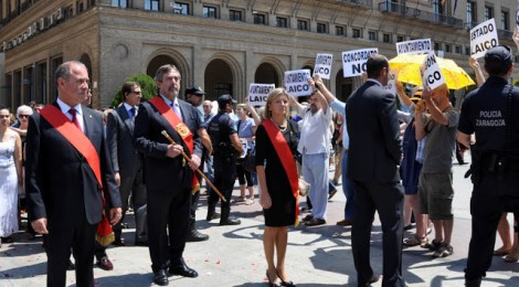 Alcalde Zaragoza Corpus 2014 CHA