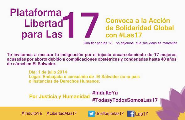 Libertad 17 accion internacional