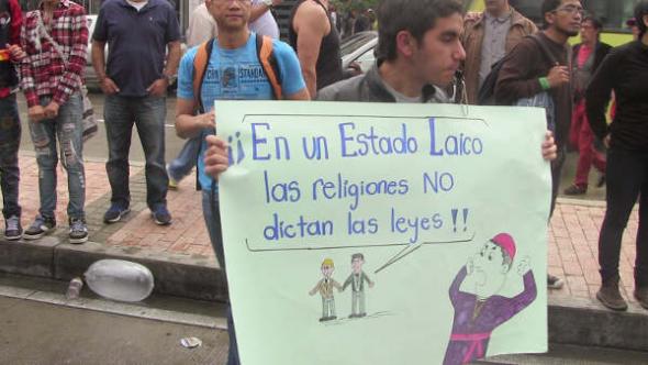 orgullo gay Bogotá 2013 estado laico