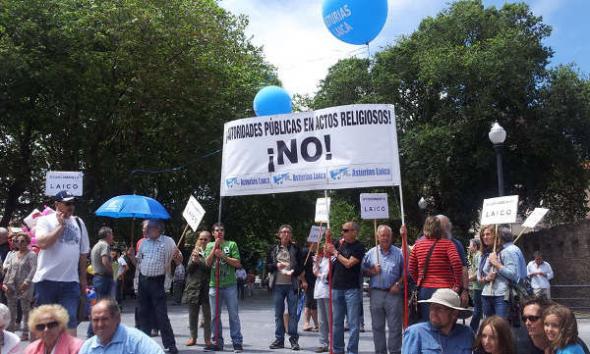 Asturias Laica Bendición de las aguas 2014 e