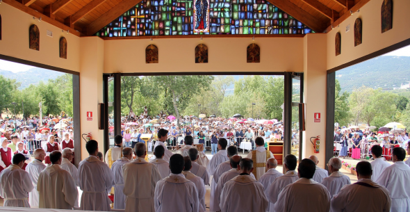 capilla vidente Escorial 2014