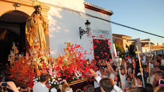 Otura Procesion Corazón Jesús 2014