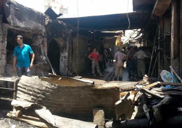 califato Mosul ataque mercado 2014