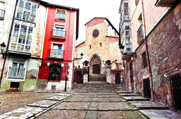 iglesia San Gil en Burgos