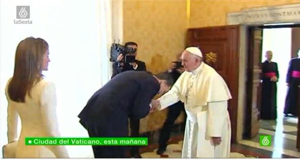 Felipe VI ante Bergoglio