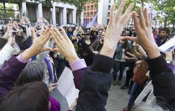 protesta reforma aborto 2014