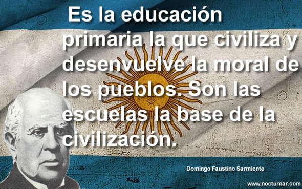 Sarmiento y educación
