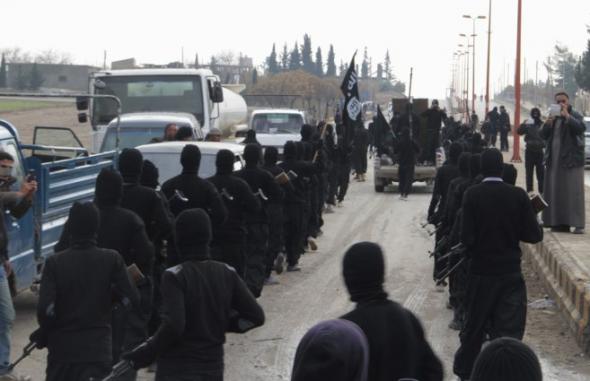 milicianos ISIS