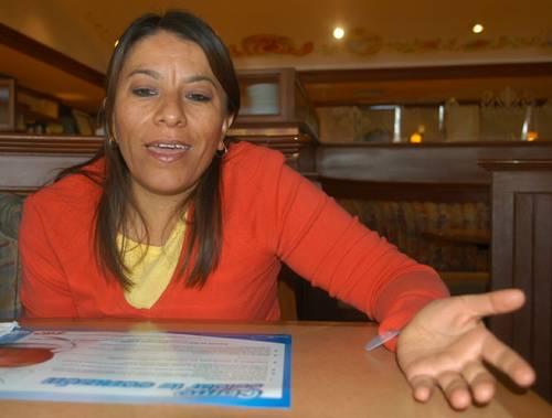 Verónica Cruz coordinadora ONG Las Libres