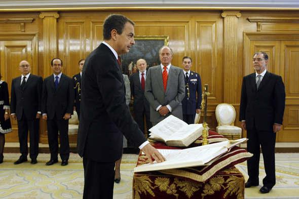 toma posesión Zapatero