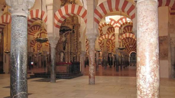 mezquita Córdoba y altar 2014