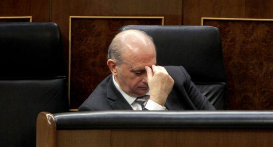 Jorge Fernández ministro Interior PP en el Congreso