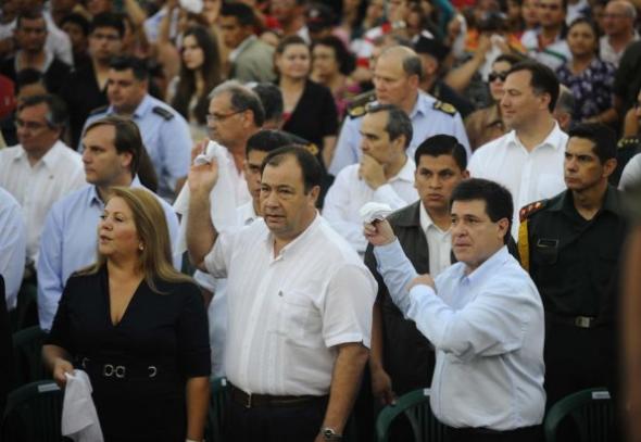 Gobierno Paraguay misa Virgen 2014