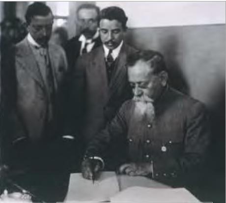 firma Constitución México 1917