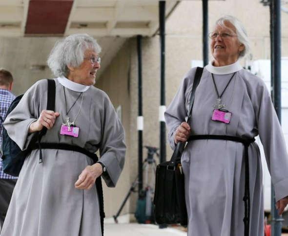 mujeres clero anglicano