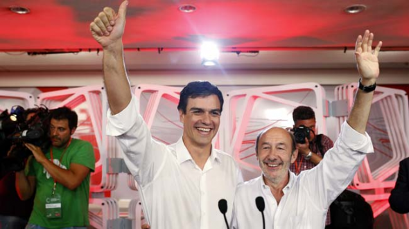 Pedro Sánchez nuevo líder PSOE 2014