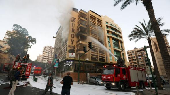 Ataque de ISIS en Líbano 2014