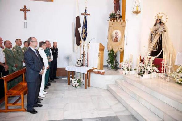 autoridades Almería en misa 2014
