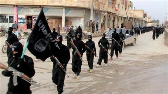milicianos IS en Siria