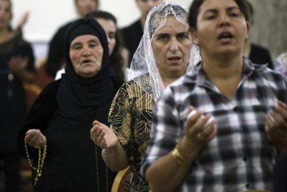 cristianos Irak 2014