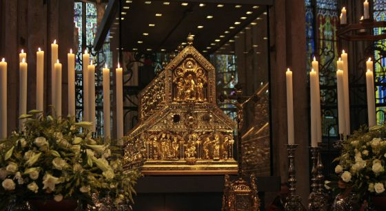 relicario reyes magos catedral Colonia