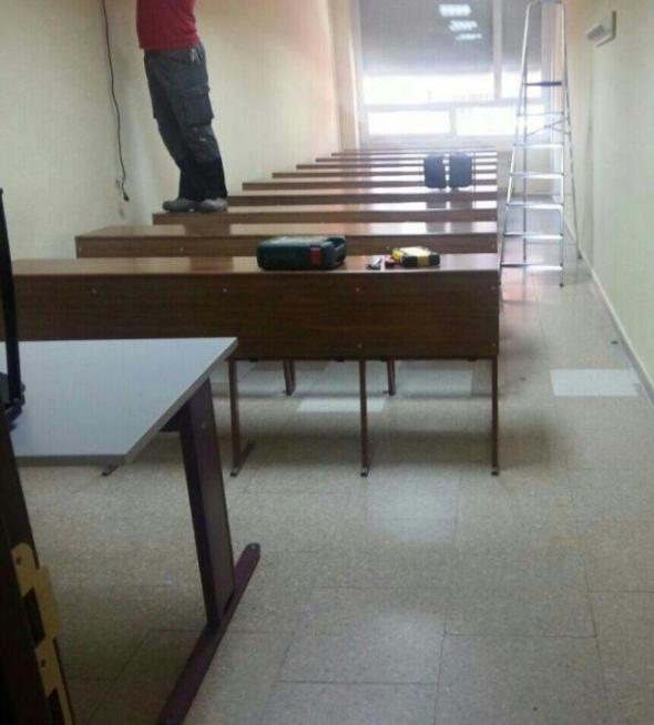 aula nueva capilla F Historia Complutense 2014