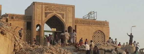 mezquita Jonas Mosul destruida ISIS
