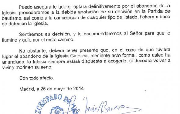 apostasia Madrid carta 2