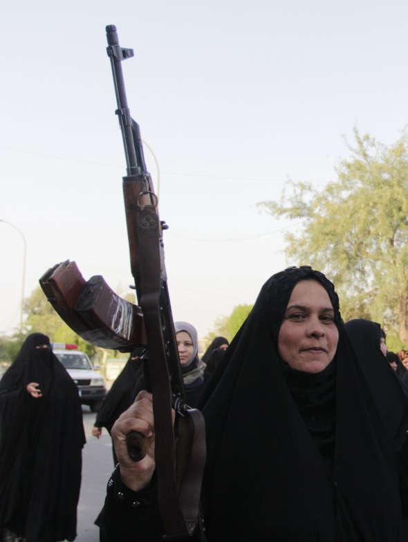 mujeres chiies Irak 2014