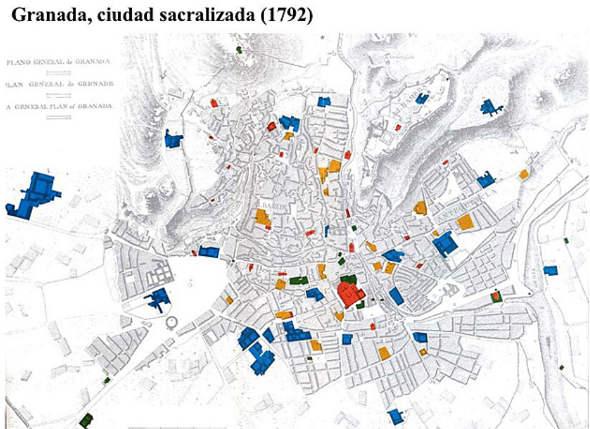 Granada ciudad sacralizada 1792