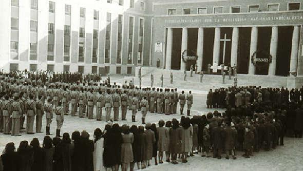 Inauguración de la Facultad de Medicina de la UCM