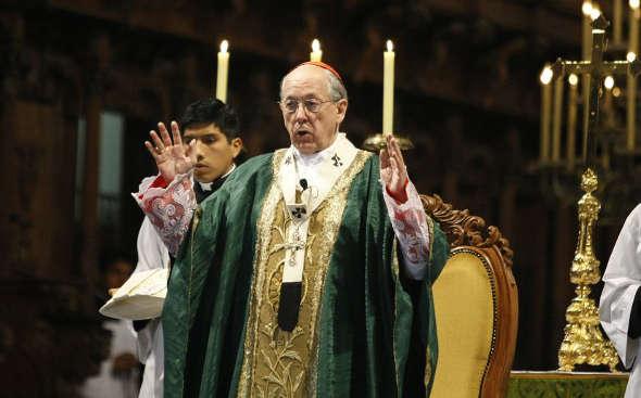 Monseñor Cirpiani Perú 2014