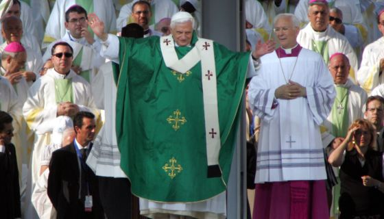 Ratzinger en Valencia 2006