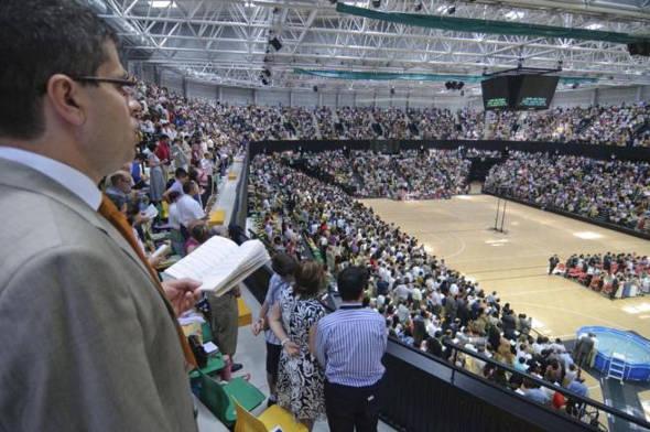 Reunión Testigos de Jehová en Bilbao